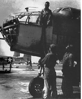 B-25 of the 477th Bombardment Group